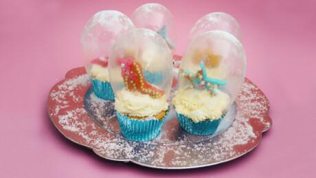 Snowglobe Cupcakes - Recept | Jill