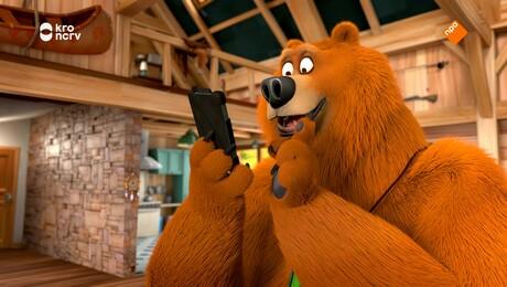 Grizzy en de Lemmingen   Telefoonbeer