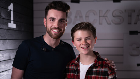 Junior Songfestival   Matheu & Duncan Laurence
