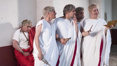 Spartacus en Crassus