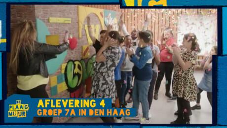 Groep 7A uit Den Haag - De Plaagmuur