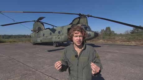 Het Klokhuis | Transporthelikopter