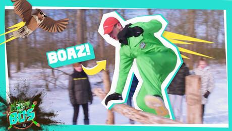 Freerunnen met Boaz van Boggelen