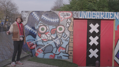 Het Klokhuis | Streetart Frankey