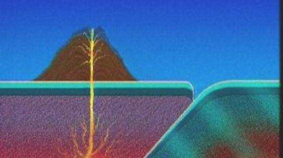 schooltv: het ontstaan van vulkanen en eilanden - op de grens van