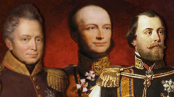 Drie koningen van Oranje in de klas