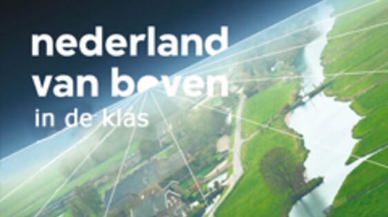 Nederland van boven in de klas