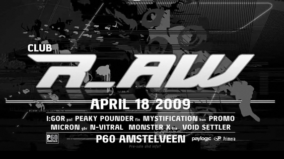 Afbeelding van Mystification DJ-set @ Club r_AW 18-04-09