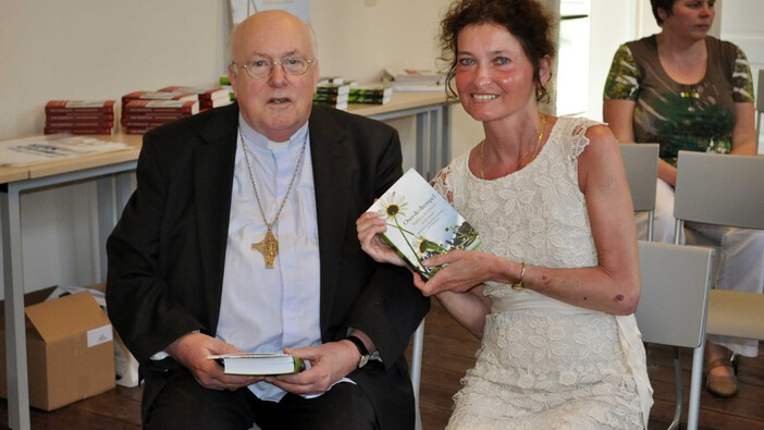 Godfried Danneels Detail: Iny Driessen & Kardinaal