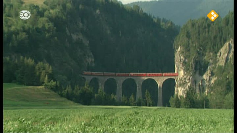 Zwitserland: Rhätische Bahn 1