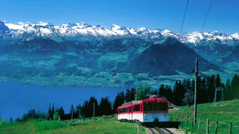 Zwitserland: Luzern - Rigi