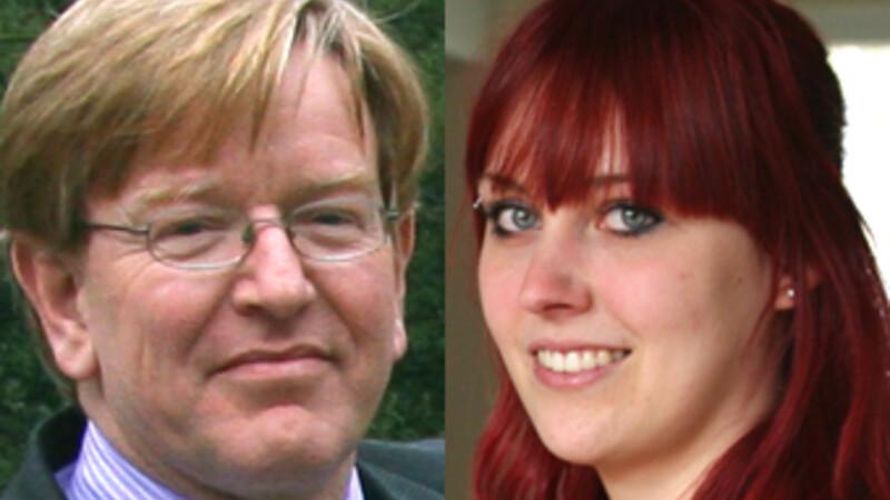Albert van der Laan en Ingrid Dreschler