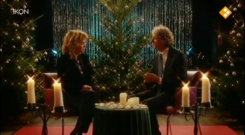 De kerstnachtzoen