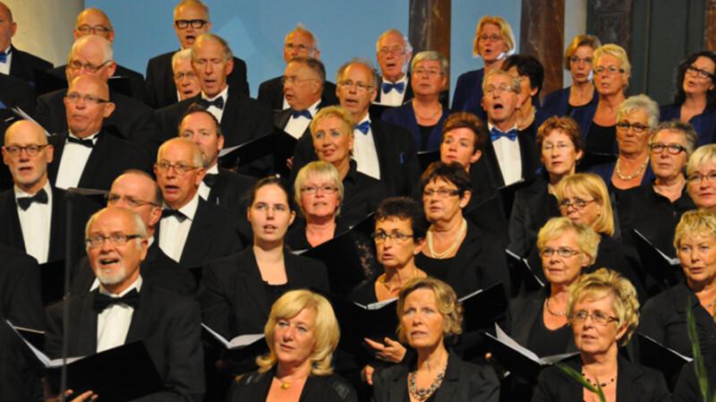Nederland Zingt in de St. Jacobskerk in Den Haag
