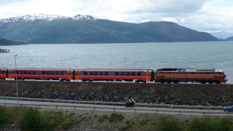 Noorwegen: Mosjøen - Bodø