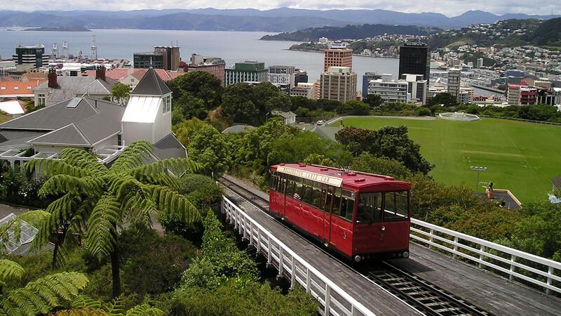Nieuw-Zeeland: Auckland-Napier-Wellington