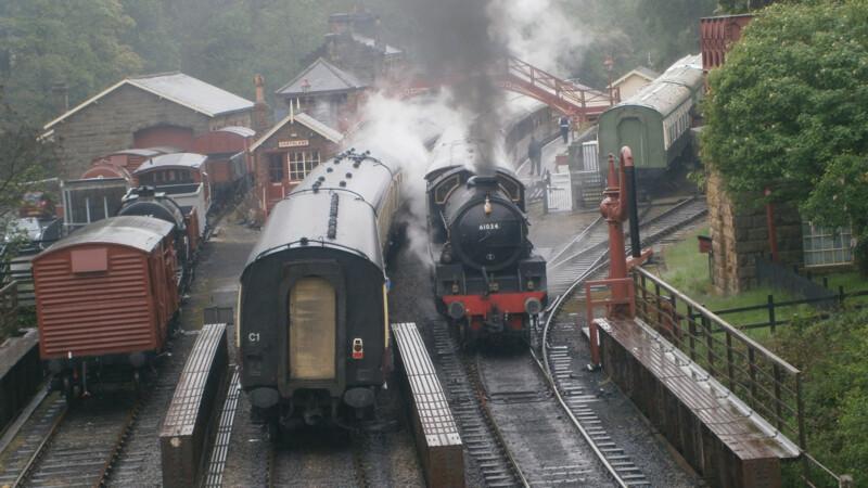 Groot-Brittannië: North Yorkshire Moors Railway, Pickering - Grosmont