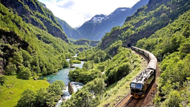 Noorwegen: Flamsbana, Bergen-Flam