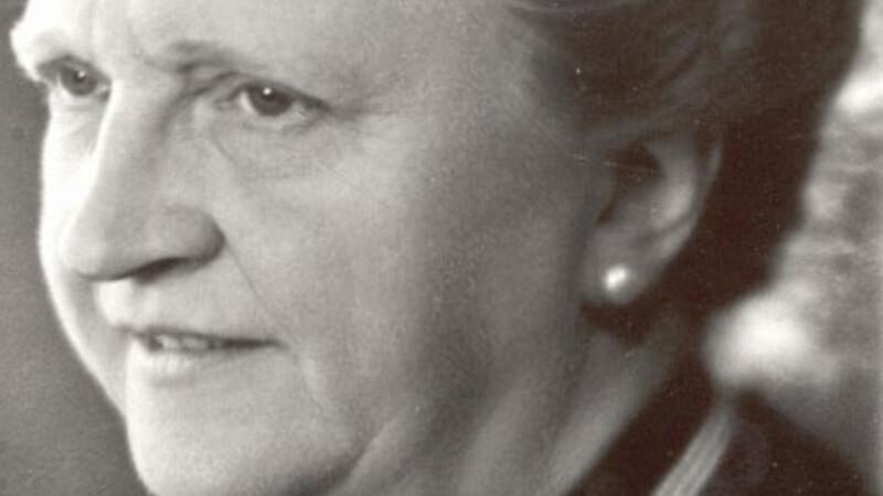 Gezina van der Molen (1892-1978).