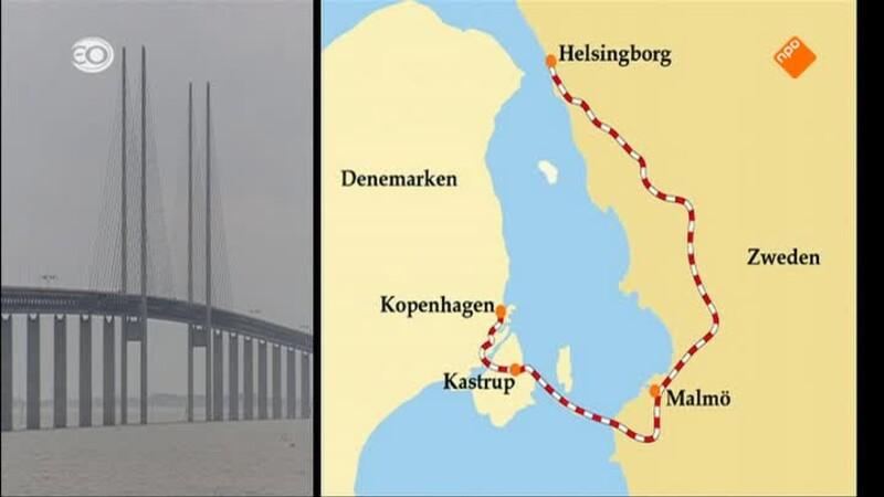 Denemarken/Zweden: Oresund, Kopenhagen-Malmö