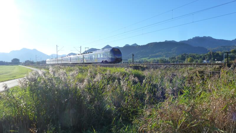 Rail Away: Prien-Freilassing-Berchtesgaden