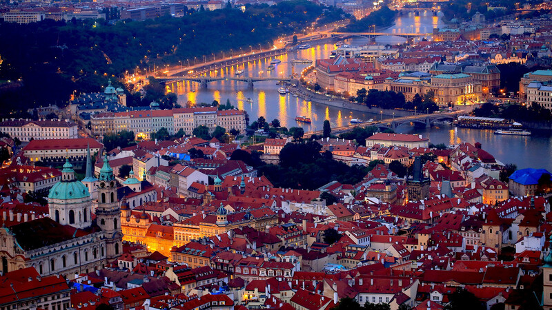 Tsjechië: Praag-Decin