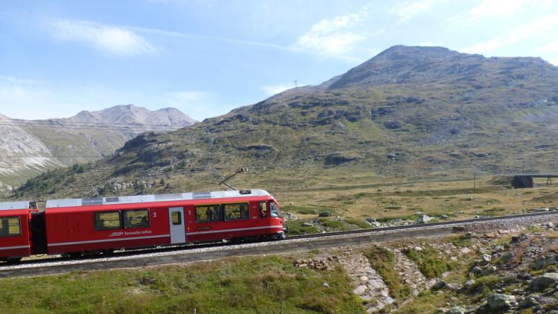 Bernina Express: Pontresia-Tirano