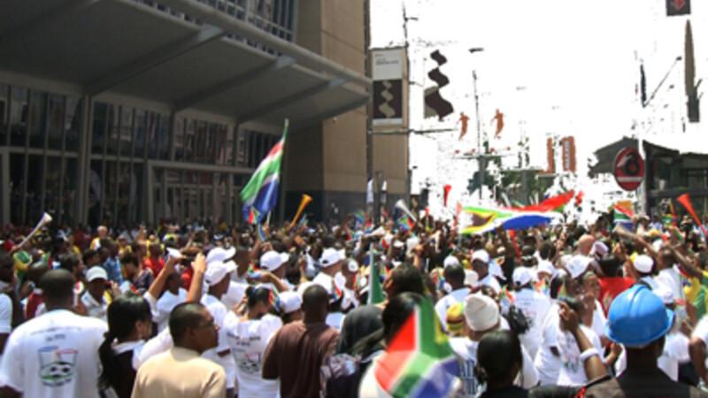 De strijd om Johannesburg