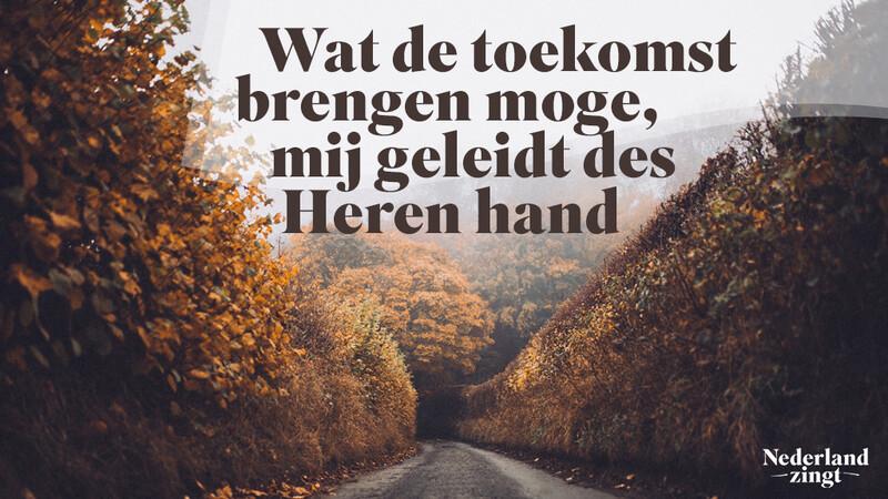 Nederland Zingt lied delen: Wat de toekomst brengen moge