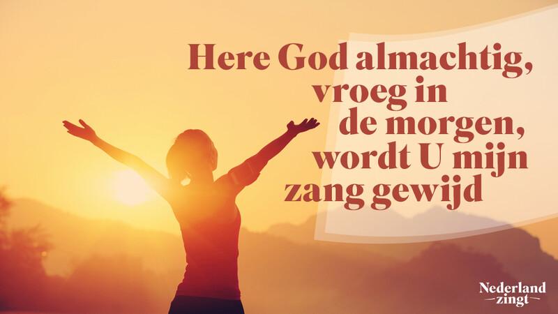 Nederland Zingt lied delen: Heilig, heilig, heilig
