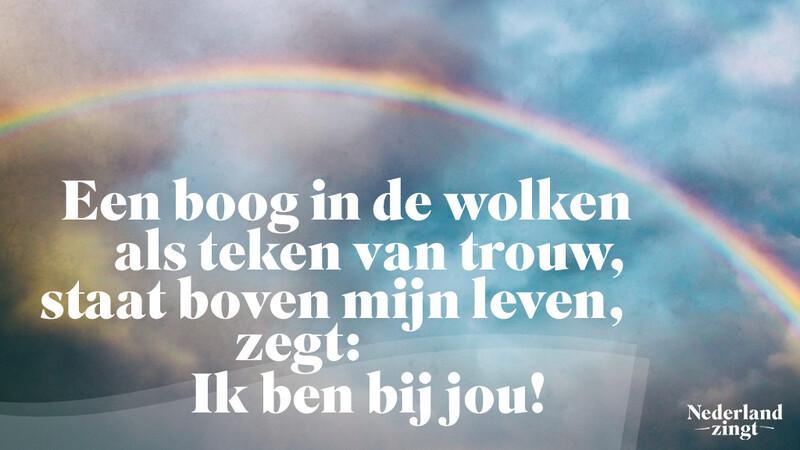 Nederland Zingt lied delen: Ik zal er zijn