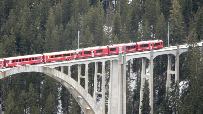 Zwitserland: Chur-Arosa