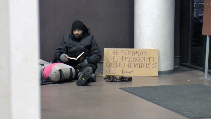 The Homeless Experience: de grond