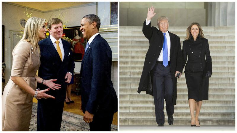 Donald Trump en de royals