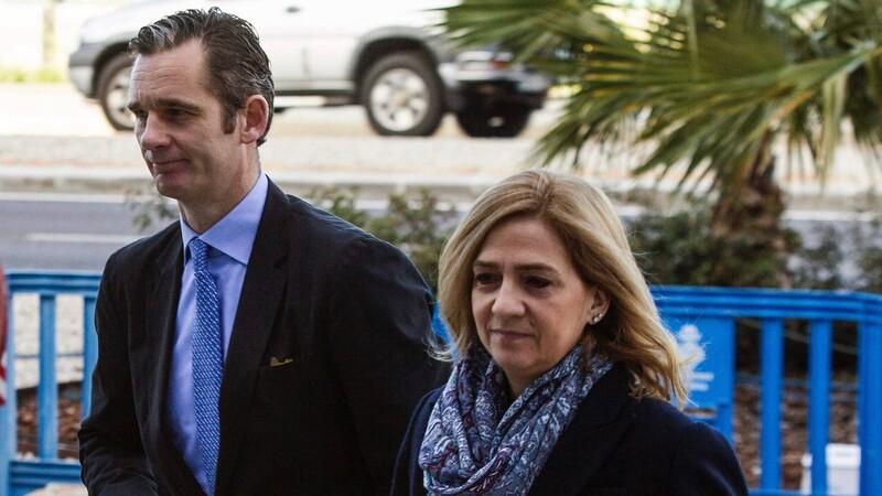 Prinses Cristina vrijgesproken, echtgenoot krijgt zes jaar cel
