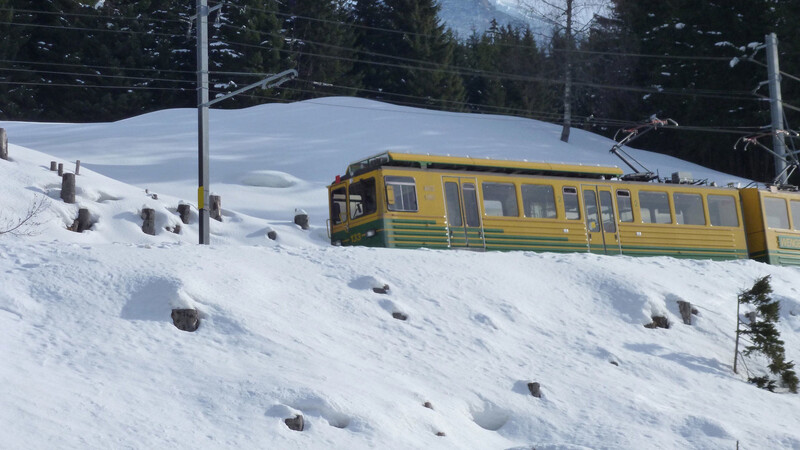 Zwitserland: Lauterbrunnen-Wengen-Kleine Scheidegg