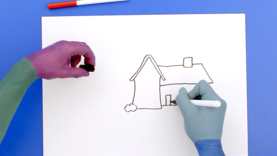 Tekenen: huis