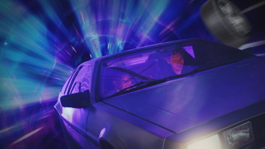 De magische auto
