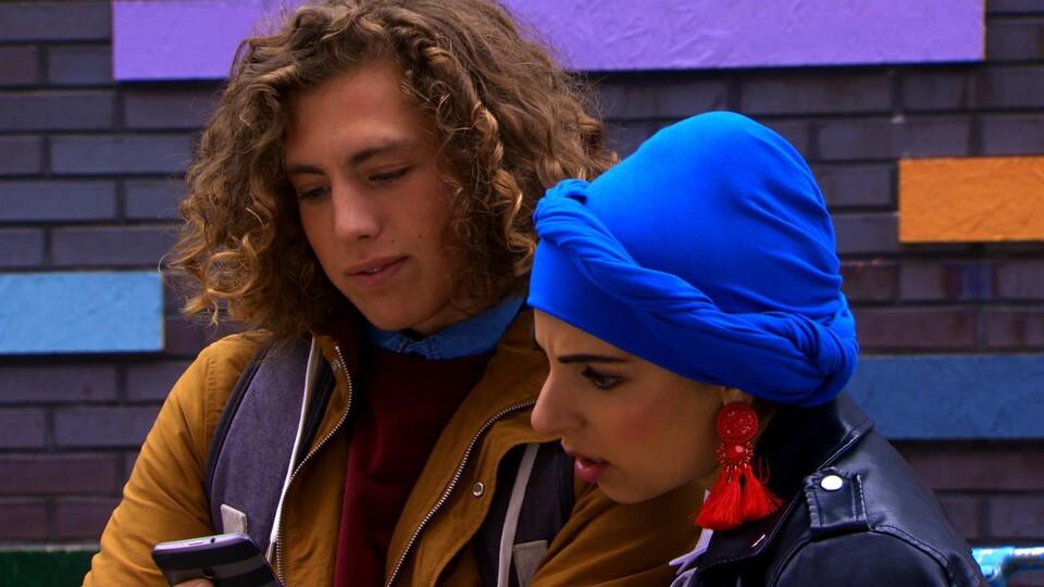 Screenshot van aflevering: Zenuwachtig