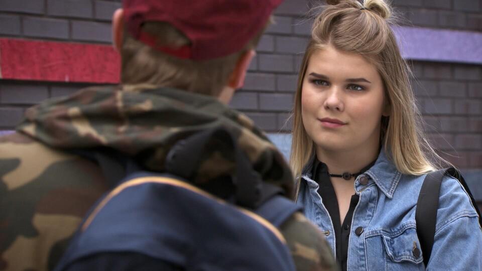 Screenshot van aflevering: Eindelijk een date!