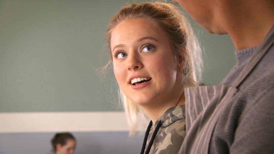Screenshot van aflevering: De grote vraag