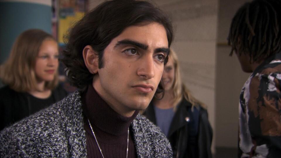 Screenshot van aflevering: Door het lint