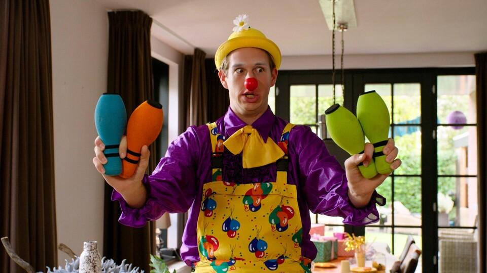 Screenshot van aflevering: Zoek je innerlijke clown