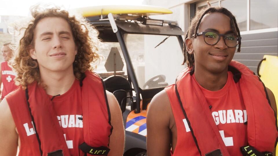 Screenshot van aflevering: Strandwachten