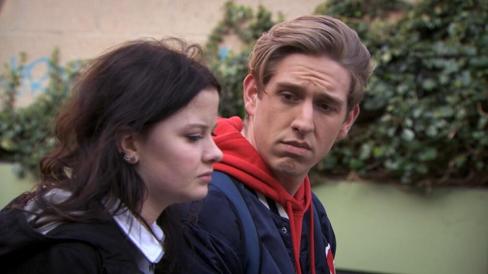 Screenshot van aflevering: Schilderangst