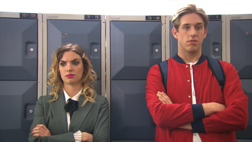 Screenshot van aflevering: In liefde en oorlog