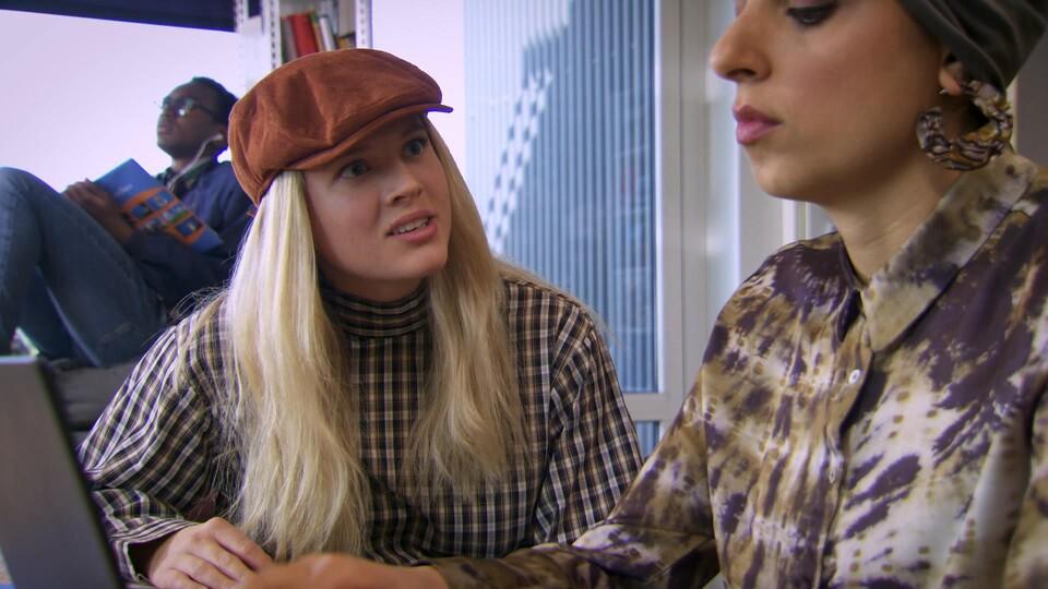 Screenshot van aflevering: Vergaderdiscipline