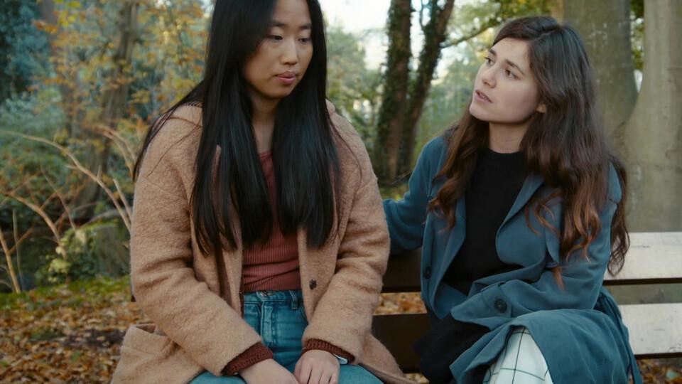 Screenshot van aflevering: Blind date
