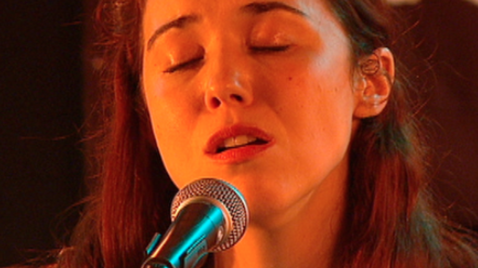Lisa Hannigan - Sessie op Crossing Border 2012