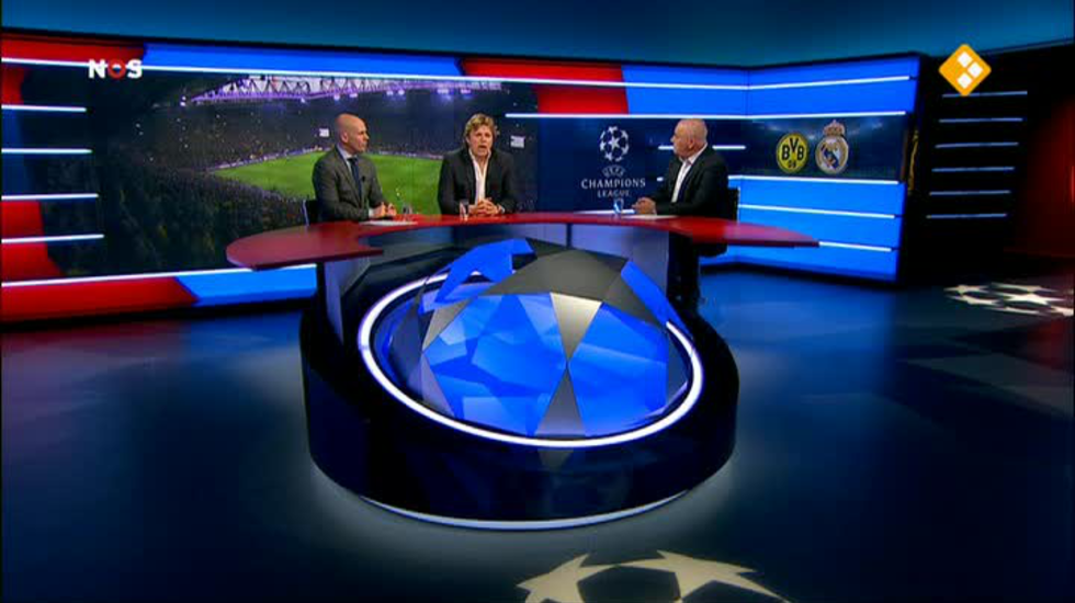 NOS UEFA Champions League Live, wedstrijdanalyse
